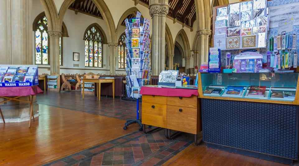 inside all saints church ryde